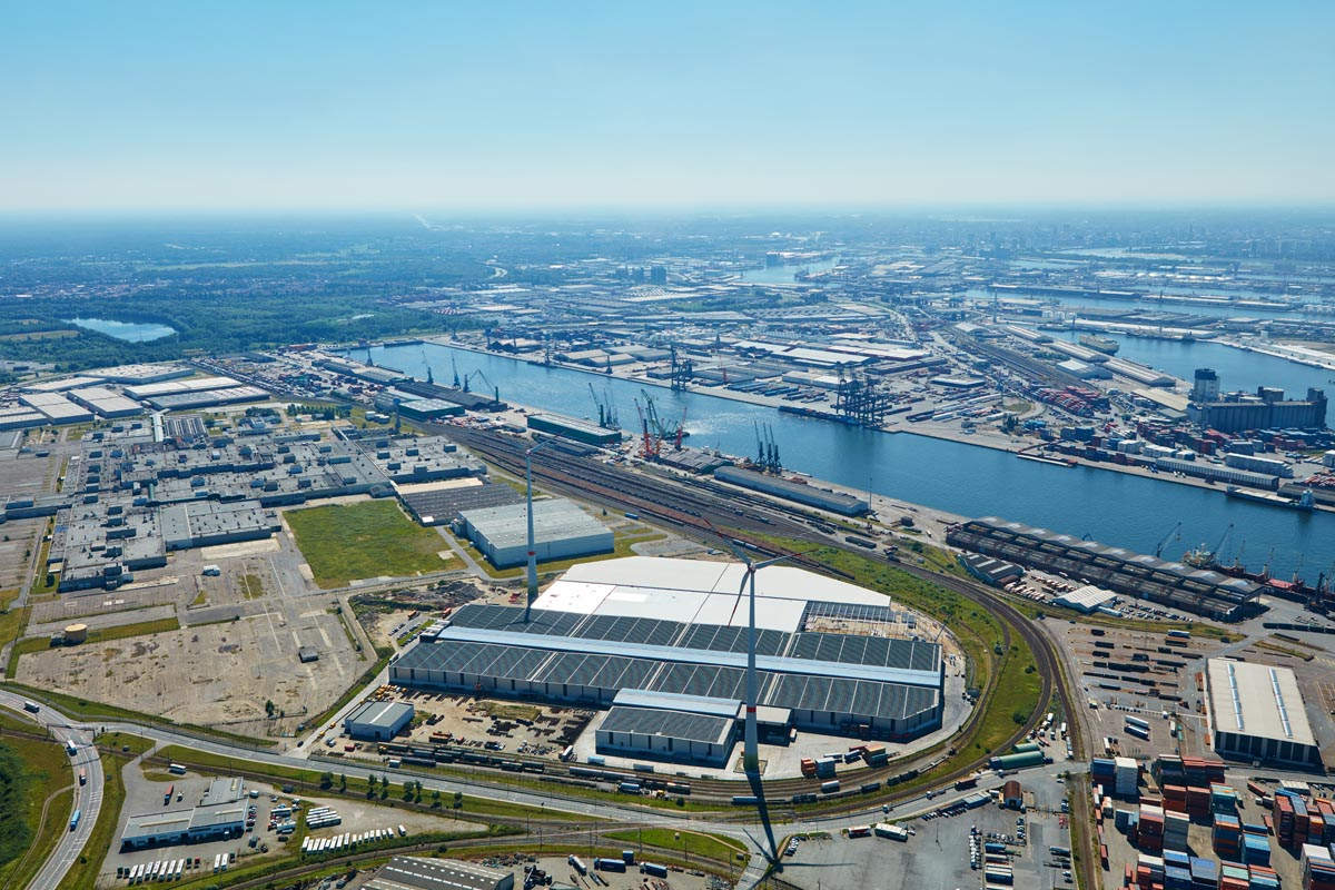 Port Invest - Magazijnencomplex Ordamstraat