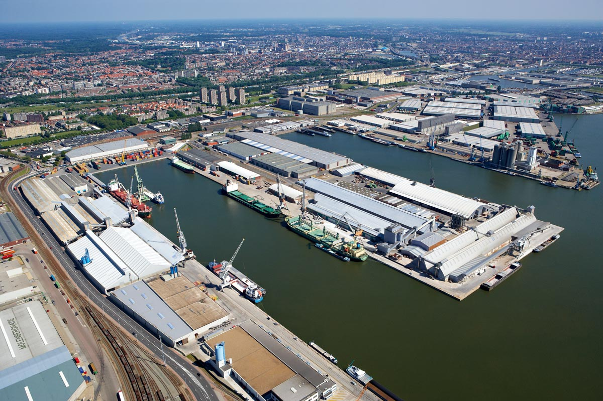 Euroports - magazijnencomplex Haven 168 - 182