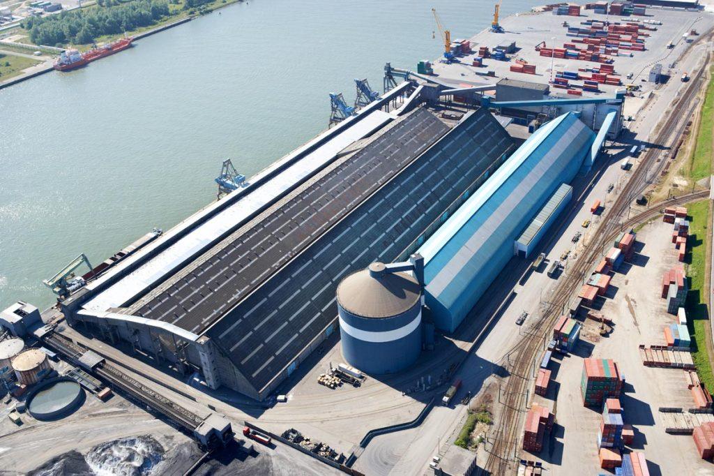 Euroports - magazijnencomplex Haven 520 - 524