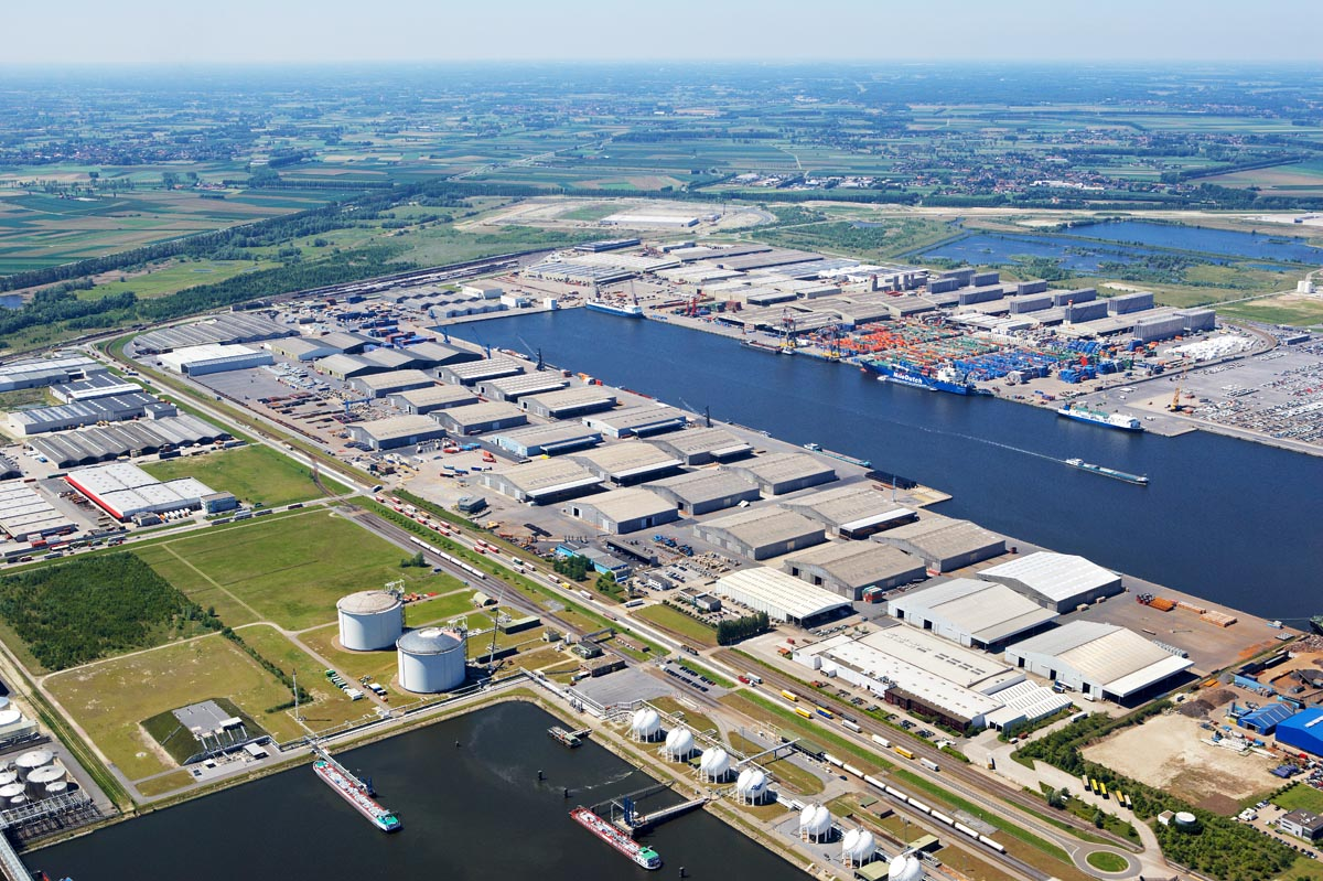 Euroports - magazijnencomplex Haven 1207