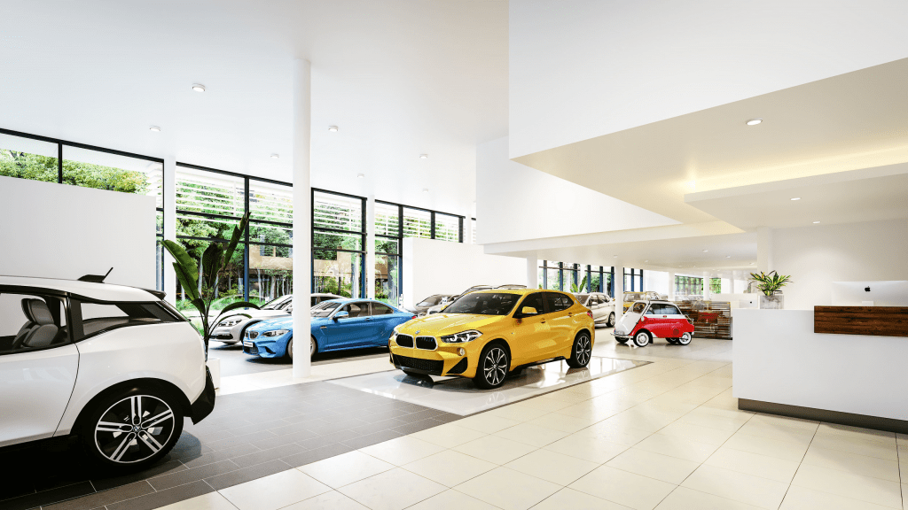 BMW garage Meeussen