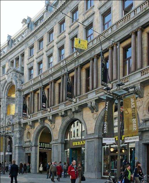 Renovatie stadsfeestzaal Antwerpen
