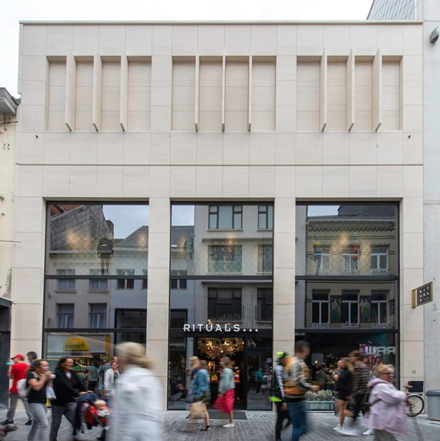 Renovatie winkelpand Kapellestraat Oostende