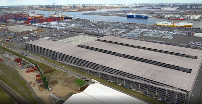 Multi-level parkeergebouw AET