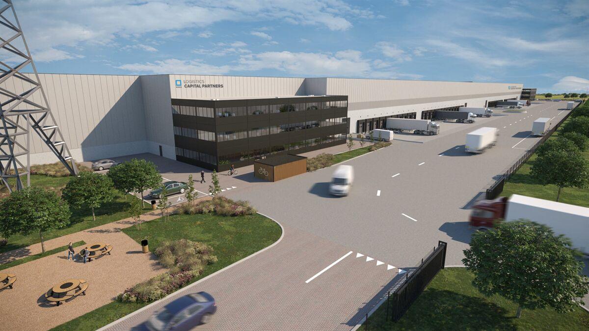 Nieuwbouw 42.000 m2 magazijn in Bilzen