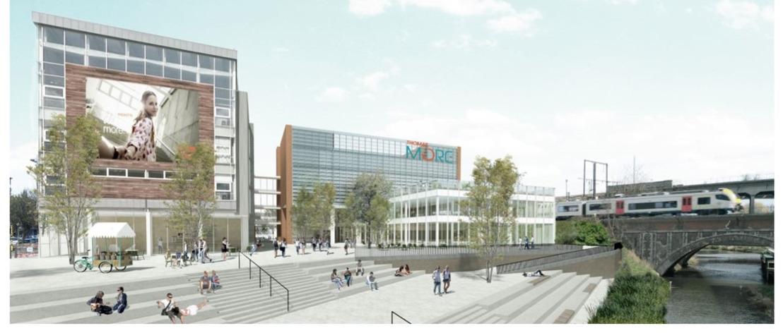 Nieuwe Thomas More-hogeschool Campus